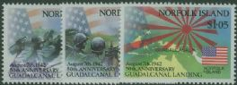 NFI SG534-6 50th Anniversary of Battle of Guadalcanal set of 3